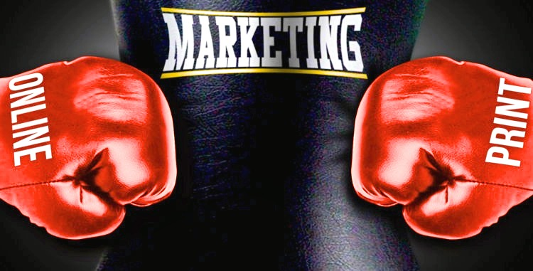 Marketing Online vs. Print – Is There Really a Contest? http://www.minutemanpressfranchise.com