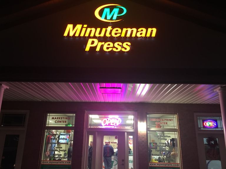 Minuteman Press Franchise in Wappingers Falls, NY – Storefront http://www.minutemanpressfranchise.com