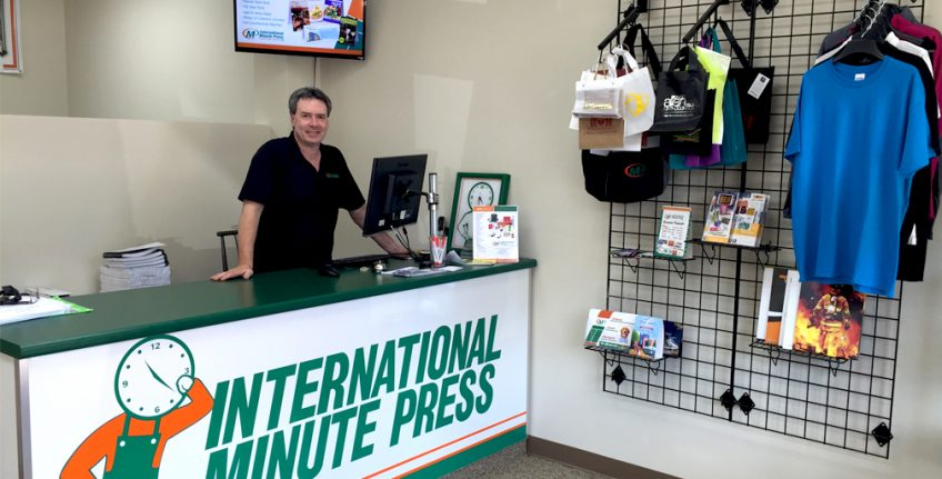 Neal Sugarman, owner, International Minute Press franchise, Cary, North Carolina. http://www.minutemanpressfranchise.com