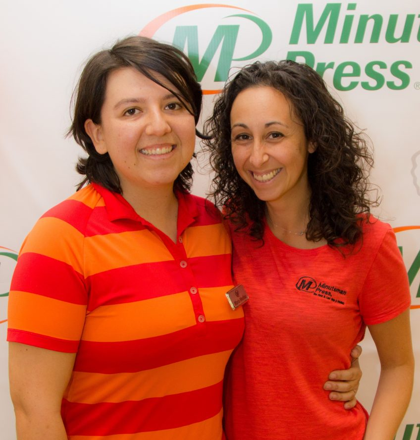 Maria and Aj Medina, Minuteman Press, Fort Lauderdale, Florida. http://www.minutemanpressfranchise.com