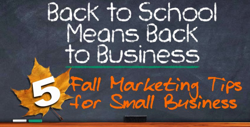 Back to School Means Back to Business – 5 Fall Marketing Tips for Small Business Owners http://www.minutemanpressfranchise.com