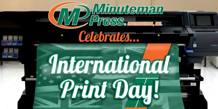 Minuteman Press Celebrates International Print Day 2016 … Plus Printing Quotes! http://www.minutemanpressfranchise.com
