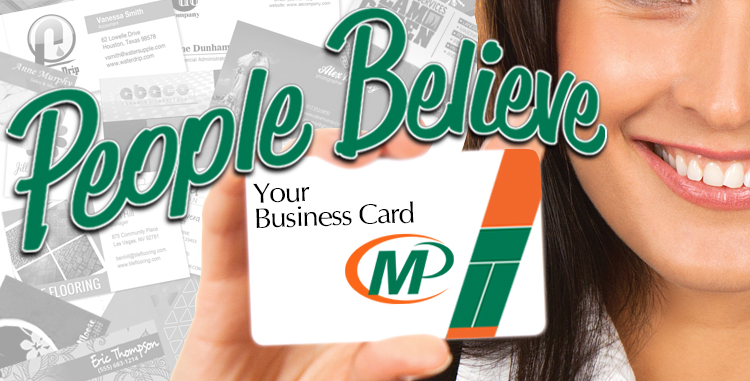 Minuteman Press Franchise Review: People Believe Your Business Card So Make It Count! http://www.minutemanpressfranchise.com