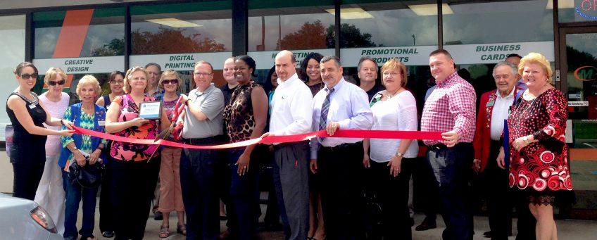 Scott Bruno, Minuteman Press franchise grand opening, Pasadena, Texas http://www.minutemanpressfranchise.com