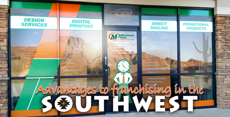 Minuteman Press Franchise Review: The Southwest Holds Advantages for Franchisees in the B2B Industry http://www.minutemanpressfranchise.com
