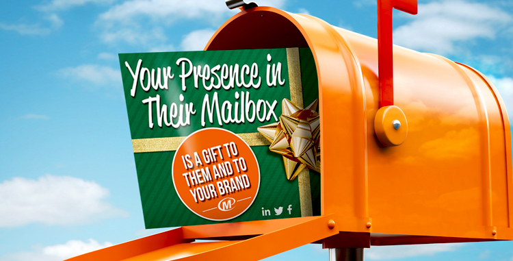 Direct Mail Works! Your Presence in Their Mailbox is a Gift to Them and to Your Brand http://www.minutemanpressfranchise.com