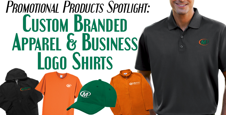Minuteman Press Promotional Products Spotlight: Custom Branded Apparel and  Business Logo Shirts - Minuteman Press Franchise