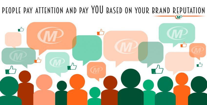 4 Business Branding Tips: People Pay Attention and Pay YOU Based on Your Brand Reputation http://www.minutemanpressfranchise.com