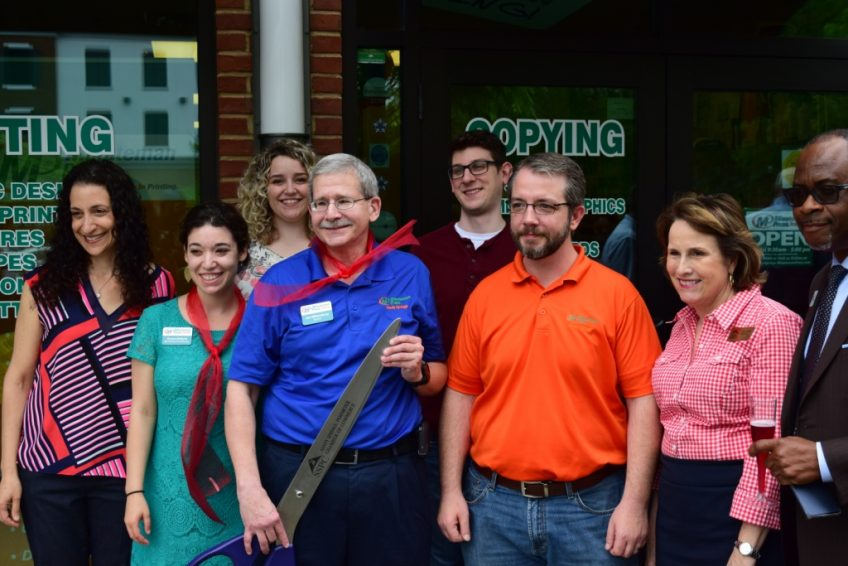 Minuteman Press, Sandy Springs, GA, grand reopening and ribbon-cutting ceremony, April 2017. http://www.minutemanpressfranchise.com
