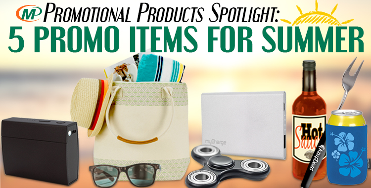 Minuteman Press Promotional Products Spotlight: 5 Promotional Items to Add to Your Summer Marketing Program http://www.minutemanpressfranchise.com