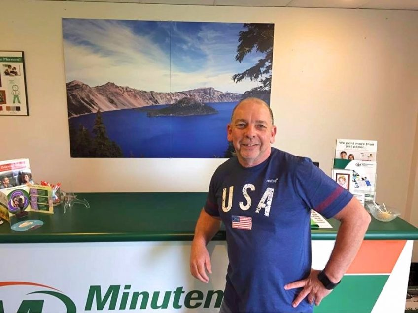Steve Dunn is the new owner of the Minuteman Press design, marketing, and printing franchise in Beaverton, Oregon. http://www.minutemanpressfranchise.com