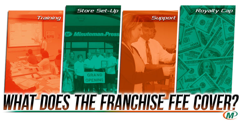 Your Franchise Fee Can Be a Boost or a Bust - What Should You Get In Return? http://www.minutemanpressfranchise.com