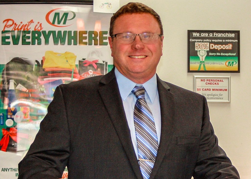 David Farmer, owner, Minuteman Press design, marketing, and printing franchise, Chester, Virginia. http://www.minutemanpressfranchise.com