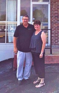 Dave and Amy Mills, new Minuteman Press franchise owners, Wentzville, Missouri. http://www.minutemanpressfranchise.com