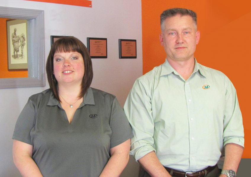Julie Moore and Mason Hutton, Minuteman Press, Dayton, Ohio. http://www.minutemanpressfranchise.com