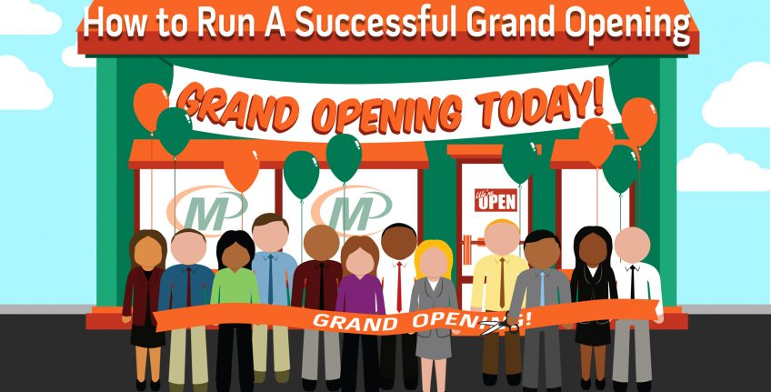 9 Business Tips for Running a Successful Grand Opening http://www.minutemanpressfranchise.com