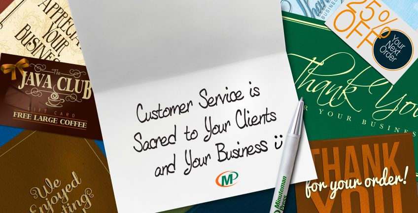 Minuteman Press Franchise Review: Why Customer Service is Sacred to Your Clients and Your Business http://www.minutemanpressfranchise.com