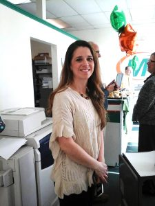 Kimberly Sherman-Leon, owner, Minuteman Press franchise, Johnston, Rhode Island. http://www.minutemanpressfranchise.com