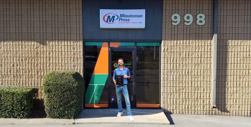 John Taylor, Minuteman Press franchise owner, Nashville, Tennessee. http://www.minutemanpressfranchise.com