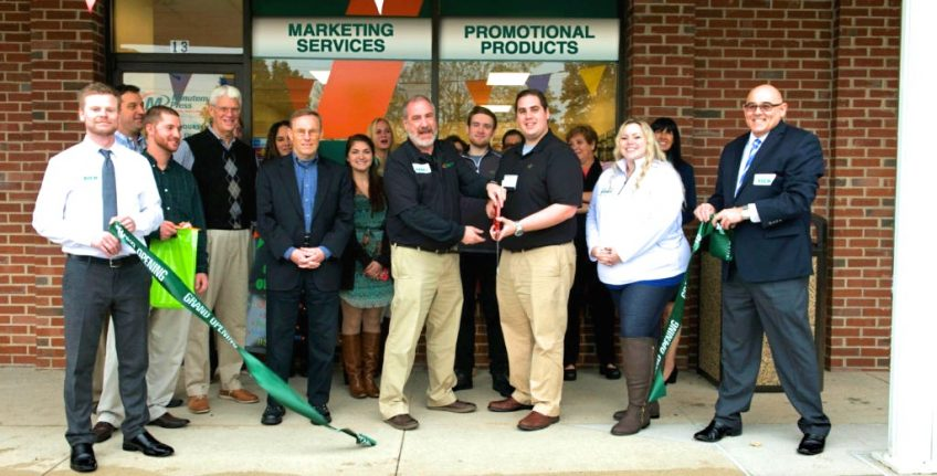 Minuteman Press franchise in Paoli, PA celebrates grand opening. http://www.minutemanpressfranchise.com