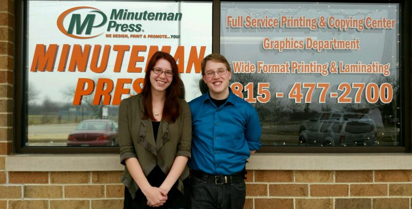 Sam and Brad Wagner, second-generation Minuteman Press franchise owners, Crystal Lake, IL. http://www.minutemanpressfranchise.com