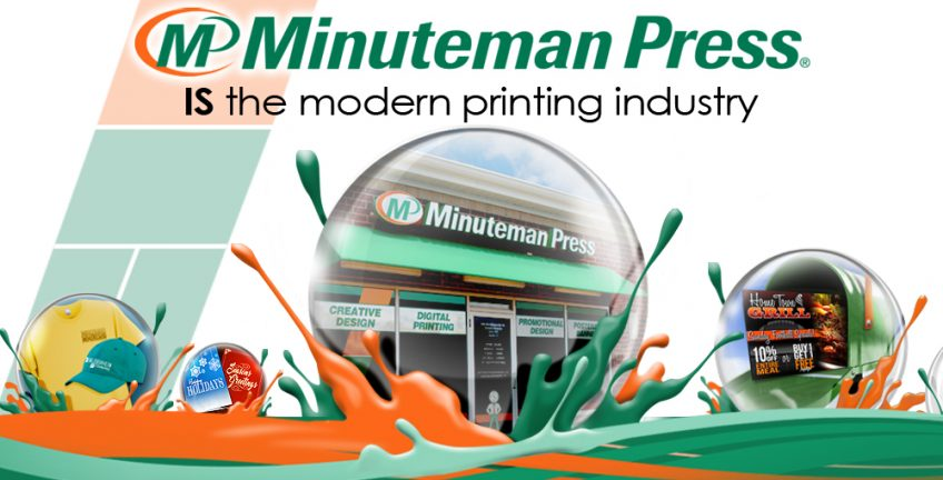 At Minuteman Press, We Are The Modern Printing Industry. Learn more about joining the #1 rated Minuteman Press franchise family by calling us at 1-800-645-3006 or visit our website: http://www.minutemanpressfranchise.com