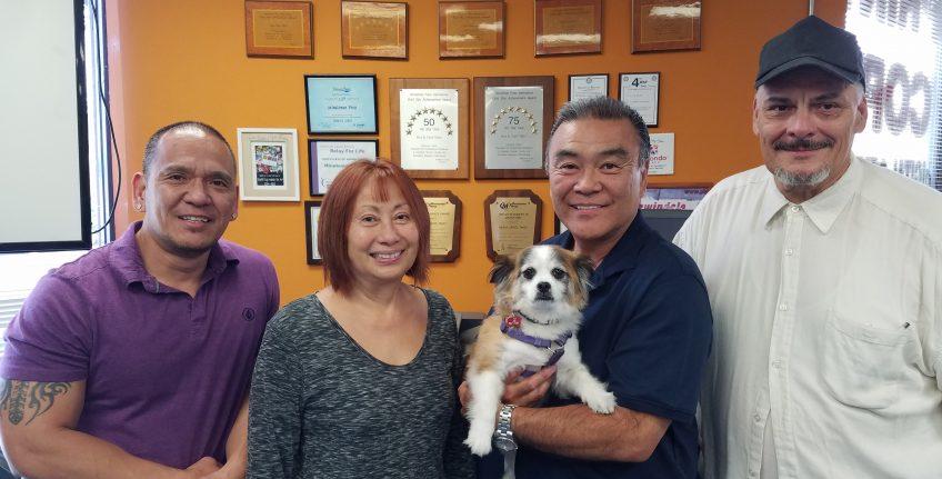 Meet the team of Minuteman Press, Redondo Beach, CA - L-R: Gregory, Carol, Kenny, and Ricky. http://www.minutemanpressfranchise.com