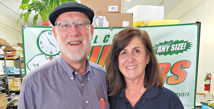 Norm and Bonnie Kurnick, Minuteman Press franchise owners, Studio City, California. http://www.minutemanpressfranchise.com