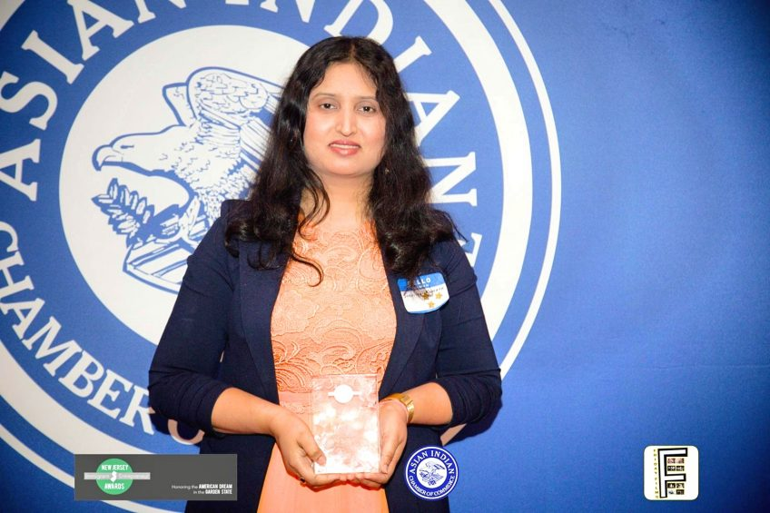 The Sixth Annual New Jersey Immigrant Entrepreneurs Awards honored Suchitra Kamath, President/Owner, Minuteman Press Edison, NJ, with the 2018 Rising Star Award. http://www.minutemanpressfranchise.com