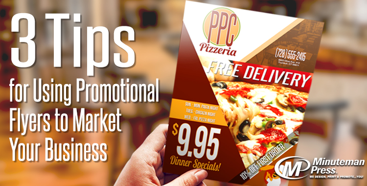 Minuteman Press Printing Spotlight: 3 Tips for Using Promotional Flyers to Market Your Business http://www.minutemanpressfranchise.com