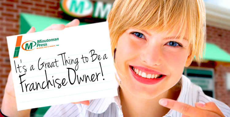 It is a Great Thing to Be a Franchise Owner! 3 Benefits of Franchising… http://www.minutemanpressfranchise.com