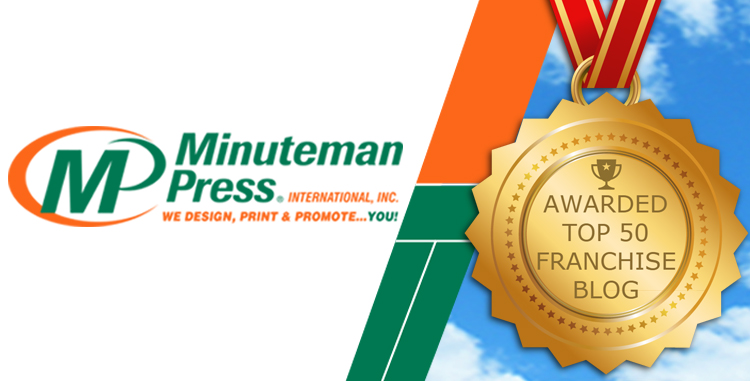 Minuteman Press International Blog The Minuteman Press Franchise Review Named to Feedspot Top 50 Franchise Blogs List http://www.minutemanpressfranchise.com