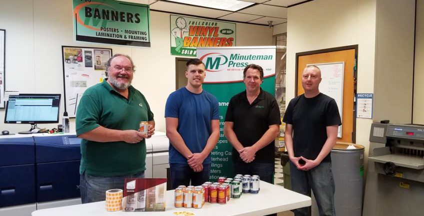 Meet the team of Minuteman Press, Boulder, Colorado - L-R: George Sawicki, David Young, Doug Rister, and Jeff Barnes. http://www.minutemanpressfranchise.com