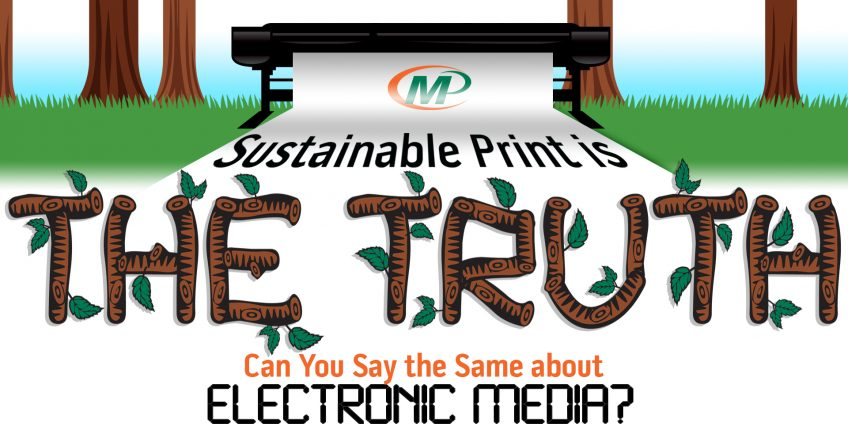 Minuteman Press Infographic: Sustainable Printing is the TRUTH … Can You Say the Same About Electronic Media? http://www.minutemanpressfranchise.com