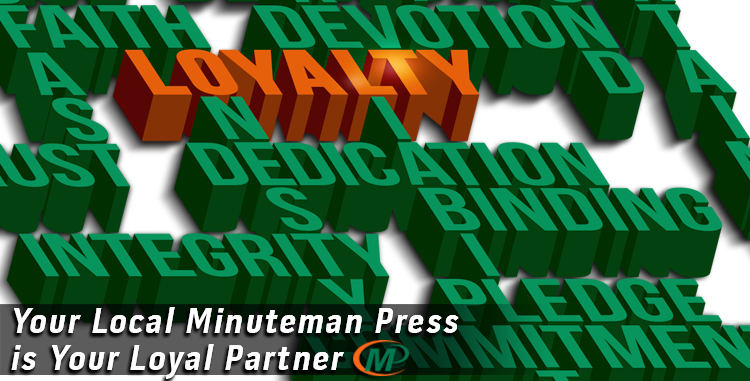 Your Local Minuteman Press Franchise is Your Loyal Design, Printing and Marketing Services Provider http://www.minutemanpressfranchise.com