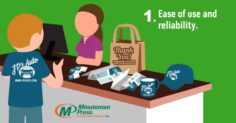 Minuteman Press Franchise Review - 5 Ways Technology Benefits the Digital Printing Industry Today - 1. Ease of use and reliability. https://minutemanpressfranchise.com