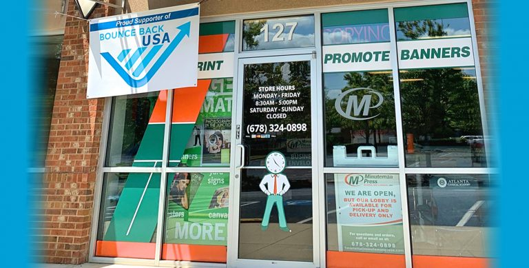 Minuteman Press Franchise in Marietta Inspires Community to Bounce Back from COVID-19 https://minutemanpressfranchise.com